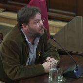 """Dante Fachin declara que el 20S vio a """"20 periodistas subidos a los coches de la Guardia Civil"""""""