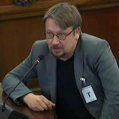 Xavier Doménech en su declaración en el juicio del procés