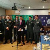 El delegado del Gobierno en la Comuntitat, Juan Carlos Fulgencio, ha dado los detalles de la operación.