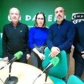 Esther Díez (Compromís), Vicente Granero (PP), Juan Antonio Sempere (Ciudadanos) y el profesor José Ruiz debaten sobre esta nueva polémica