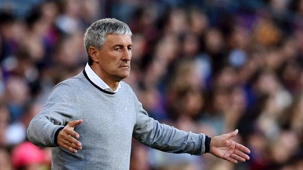 El Betis hace oficial que Quique Setién no continuará como entrenador la próxima temporada