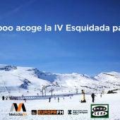 Alto Campoo acoge la IV Esquiada para Novatos