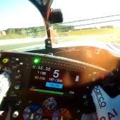 Kimi Raikkonen, sobre el Alfa Romeo