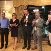 De izquierda a derecha, los hermanos Isabel y Vicente Antón; Carlos González; Pedro Valero; y Antonio García