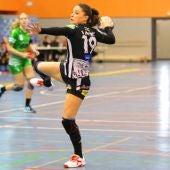 Sole López, jugadora del Rincón Fertilidad Málaga de balonmano