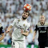 El central del Real Madrid, Nacho Fernández.