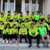 El equipo de natación del Club Tenis Elche.