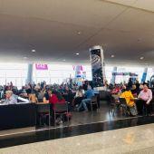 Sala de espera del Aeropuerto de Son Sant Joan