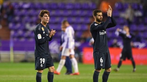 Odriozola se rompe la clavícula durante el entrenamiento del Real Madrid