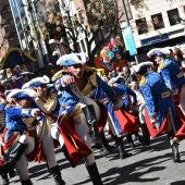 """El Burleta durante la representación de """"La Revolución Francesa"""""""