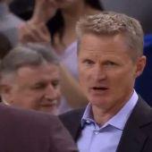 Steve Kerr, entrenador de los Golden State Warriors
