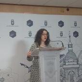 Sara Martínez, portavoz del Equipo de Gobierno municipal