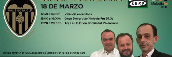Programa especial Centenario del Valencia CF