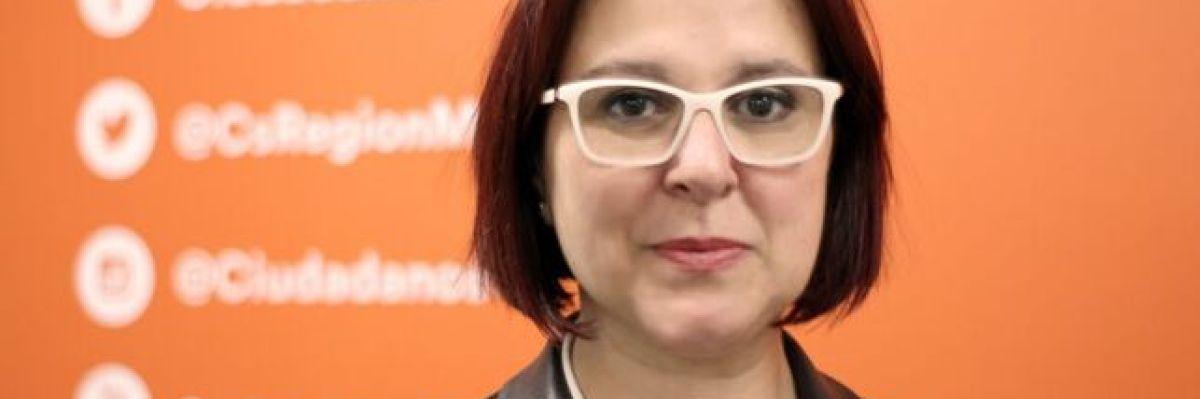 Isabel Franco, la ganadora de las primarias de Ciudadanos en Murcia