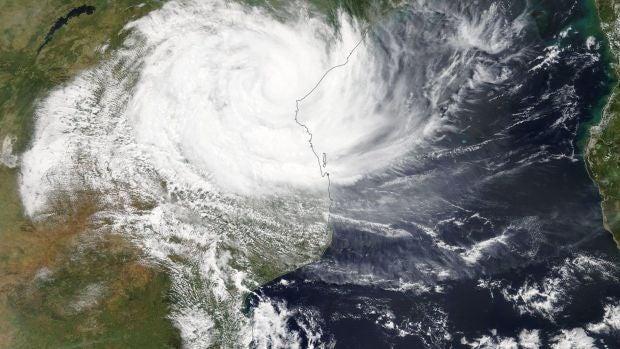 Ciclón Idai.