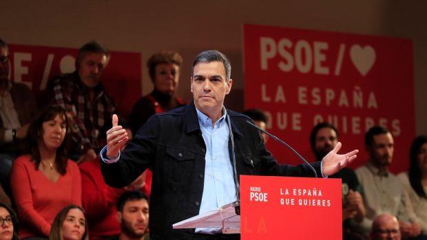 Pedro Sánchez elige Dos Hermanas para comenzar su campaña electoral