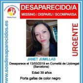 Buscan a una mujer de 39 años desaparecida en Cornellà de Llobregat.