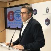 Miguel Ángel Rodríguez, portavoz del PP en el Ayuntamiento de C.Real