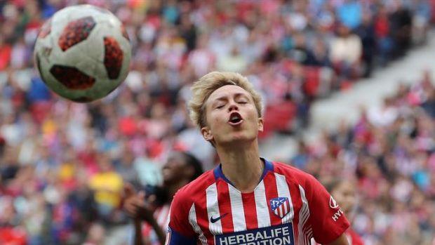 """Amanda Sampedro: """"Queríamos regalar los tres puntos a la afición del Atlético que ha estado espectacular"""""""