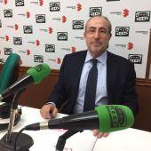 Mariano León, durante su entrevista en Onda Cero Ciudad Real