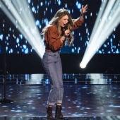 """Palomy, durante una actuación en """"La Voz"""""""