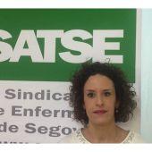 Miriam Rubio, secretaria provincial de SATSE