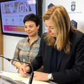 Firma del convenio entre Zamora y Carretero