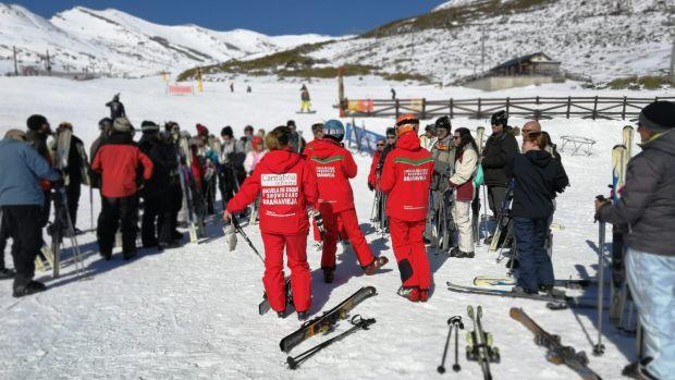 Celebrada la IV Esquiada para Novatos en Alto Campoo