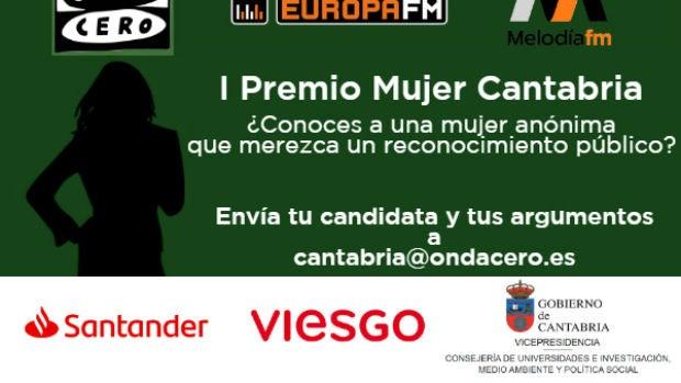 Onda Cero Cantabria presenta el I Premio Mujer Cantabria