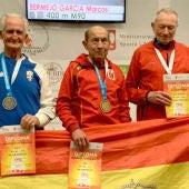 Marcos Bermejo, el atleta de 90 años que ha batido el récord del Mundo en Polonia en 400 metros