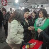 Pilar Zamora y Marga Romero han inaugurado la Feria del Stock de Ciudad Real