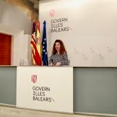La portavoz del Govern balear, Pilar Costa