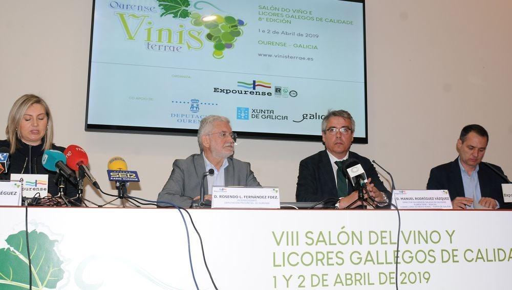 Presentación do VIII Salón Vinesterrae