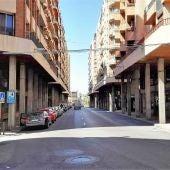 Calle Maestro Albeniz de Elche.