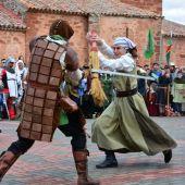 Recreación de una lucha durante Montiel medieval