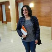 La concejala Eva Crisol en el Ayuntamiento de Elche