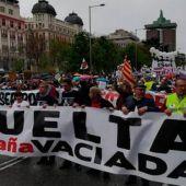 Manifestación de la España Vaciada en Madrid