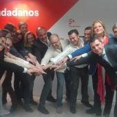Cs de Ciudad Real ha presentado sus candidaturas al Congreso y al Senado