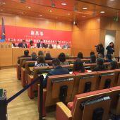 Momento de la celebración de la Diputación Permanente