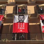 Pegada de carteles PSIB-PSOE