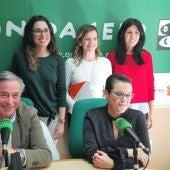 José Salas (PP), Toñi Serna (PSOE), Aitana Mas (Compromís), María Quiles (Ciudadanos) y Naiara Davó hablan de sanidad, educación, y economía