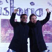Unidas Podemos presenta su candidatura.