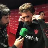 El jugador del Sevilla, Franco Vázquez