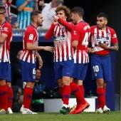 Griezmann celebra su gol contra el Celta