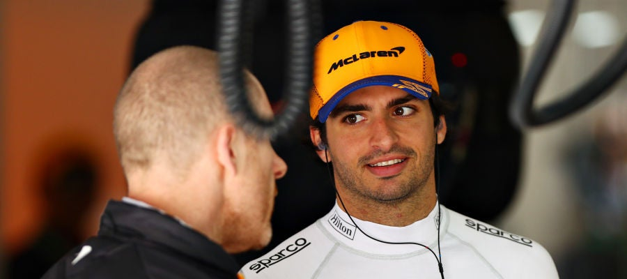 Carlos Sainz, en China