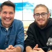 Jaime Cantizano y Andrés Martín