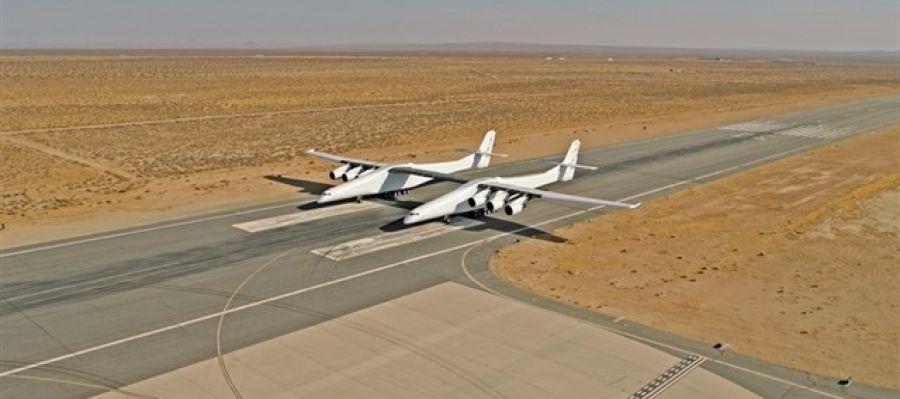 Imagen del avión más grande del mundo