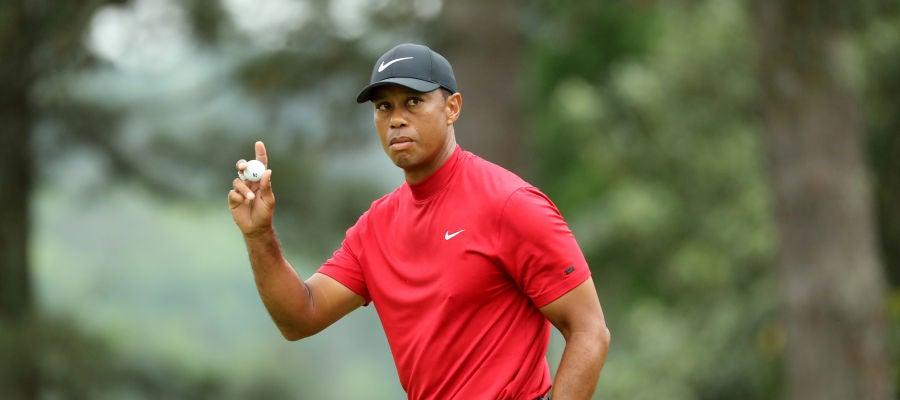 Tiger Woods, durante el Masters de Augusta