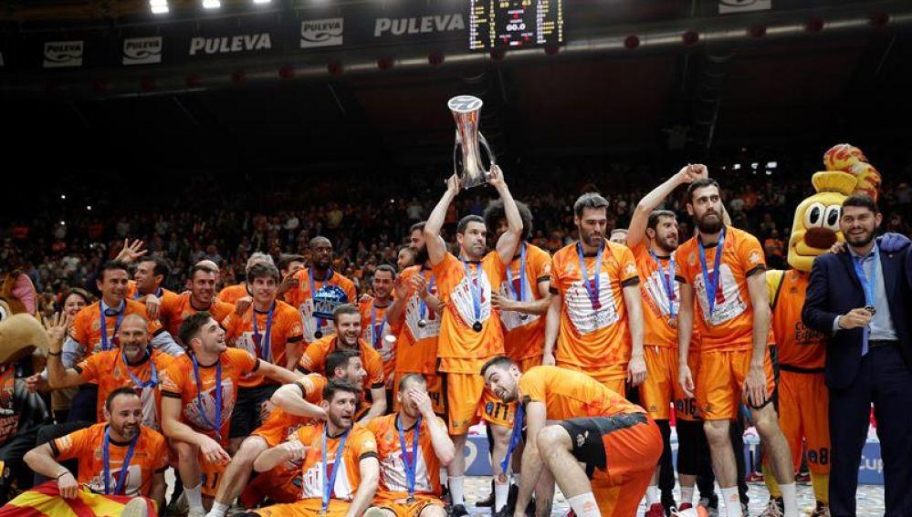 El Valencia se proclama campeón de la Eurocup.