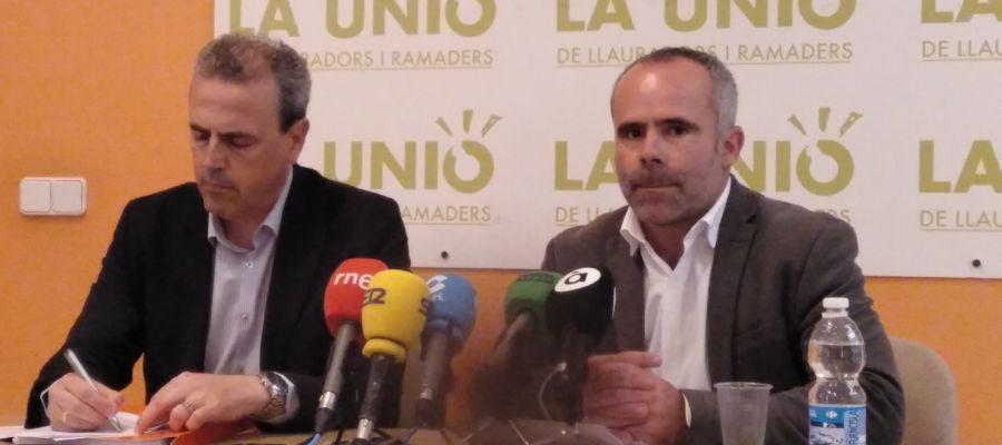 Fernando Móner y Carles Peris
